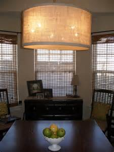 Dining Room Drum Light The Keylor Family Quot I Want That Quot Drum Pendant Light Tutorial