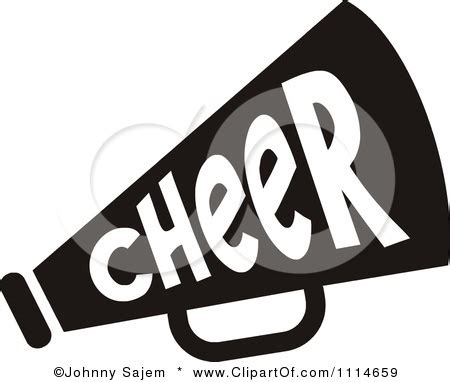 megaphone clipart miniature clipart cheer pencil and in color miniature