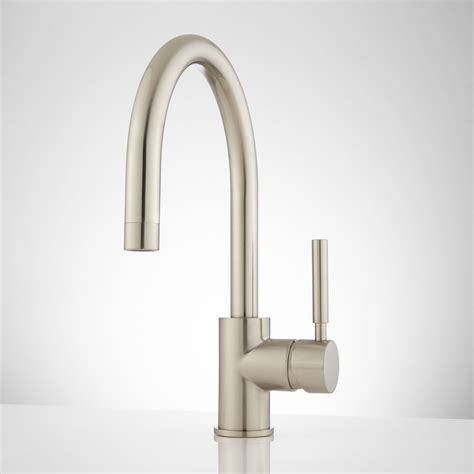 casimir single hole bathroom faucet with pop up drain