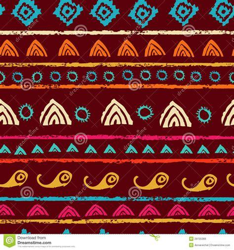 tribal pattern free stock tribal seamless pattern royalty free stock image image
