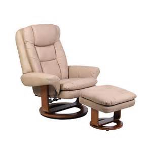 Swivel Chair With Ottoman Mac Motion Chairs Nubuck Bonded Leather Swivel Recliner