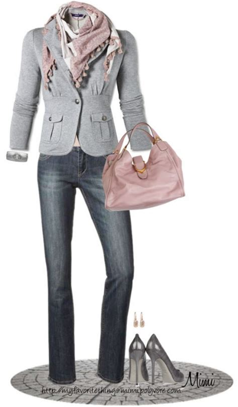 the pink and grey look nice with the paint color eden s simple style for a gorgeous look 31 casual work outfits