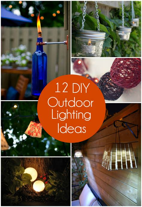 Outdoor Lighting Ideas Diy 12 Diy Outdoor Lighting Ideas The Craftiest