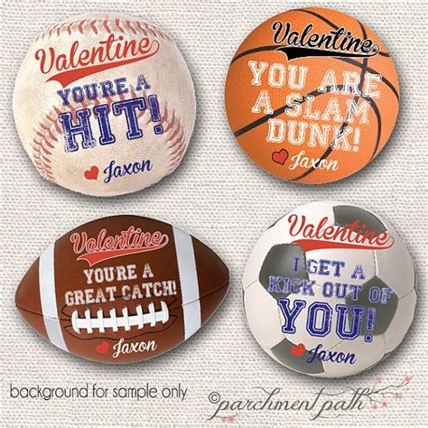 sports valentines cards sports stickers tags valentines for boys boy