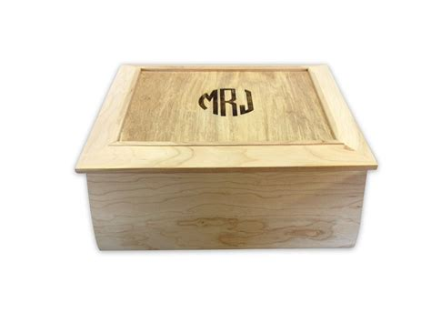 Hand Crafted Large Keepsake Box by Grampa's Cave