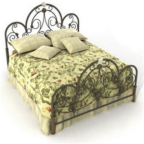 Wrought Iron Headboard And Footboard by Bed With Wrought Iron Headboard And Footboard Oldengland