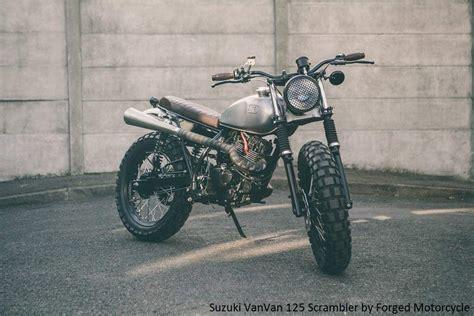 Suzuki Scrambler Motorcycle Suzuki Vanvan 125 Scrambler By Forged Motorcycles 1024x683