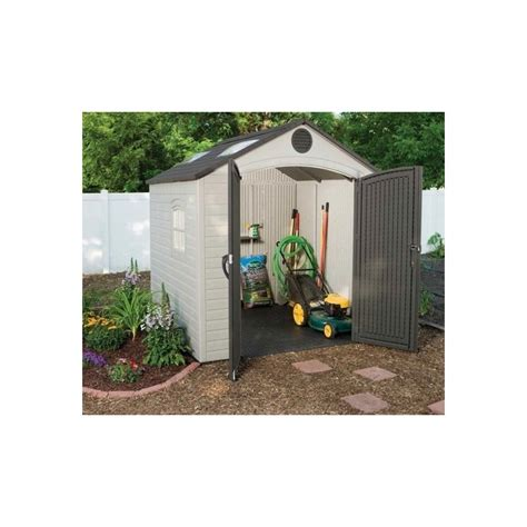 Outdoor Storage Shed With Floor by Mcl Direct For Best Pricing On Lifetime Products