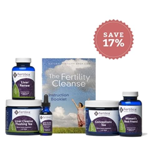 Detox For Fertility Problems by Fertility Cleanse Kit Prepare For Conception