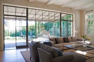 Decor For Living Room Walls How To Decorate A Living Room With Large Windows