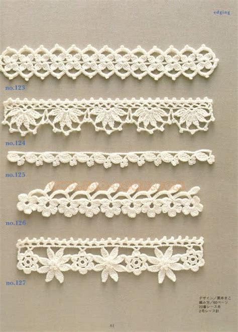 puntillas a crochet on pinterest ganchillo crochet solo puntos puntillas crochet
