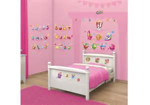 Removable Wall Stickers For Kids Rooms new shopkins walltastic room sticker kit for kids bedrooms