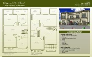 House Designs In Pakistan by 5 Marla House Plans Civil Engineers Pk