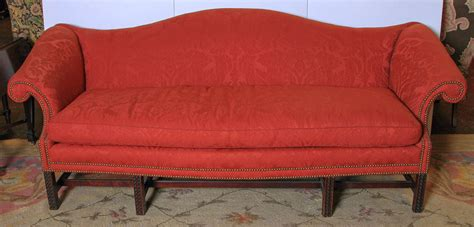 camelback sofas for sale english chippendale style camel back sofa for sale at 1stdibs