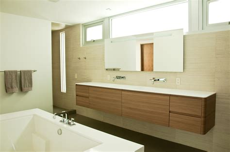walnut bathroom ideas modern manhattan beach residence opens up and let s nature