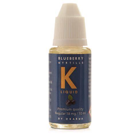 k liquid blueberry 16 x 10ml bottle k by ekarma