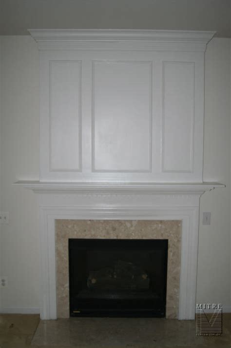 mantels mantel with panel moulding crown