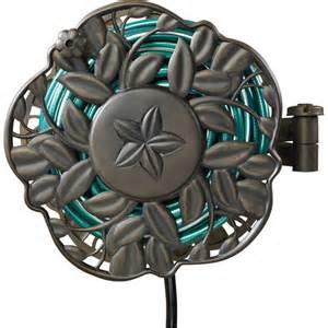 decorative hose reel ames decorative swivel wall mount hose reel gardening