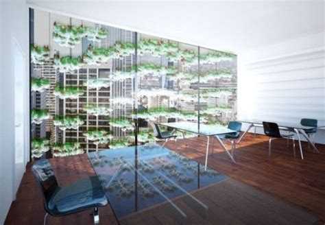 Vertical Window Garden Concept Vertical Garden Lets You Grow Food On Your Window