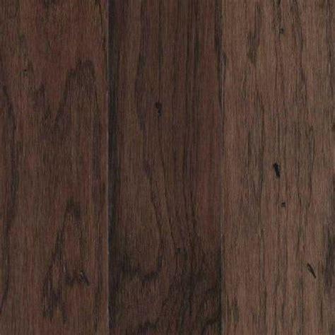 Mohawk Engineered Hardwood Flooring Mohawk Take Home Sle Landings View Chocolate Hickory Engineered Hardwood Flooring 5 In X