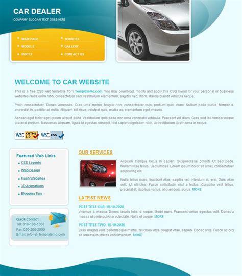 hd website templates free auto dealers css page templates millions vectors