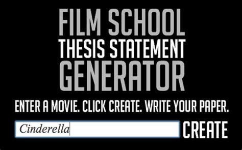 School Thesis Generator by With The School Thesis Statement Generator Ifc