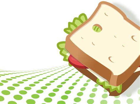 vegetarian sandwich ppt backgrounds foods amp drinks