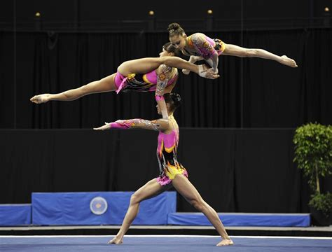 usa gymnastics national chions acrobatic gymnastics f 233 d 233 ration internationale de gymnastique it all started