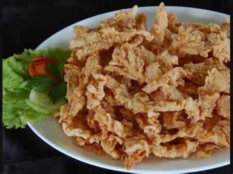 resep   membuat jamur crispy renyah  tahan