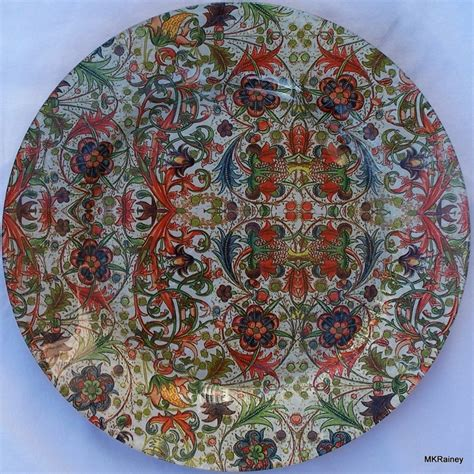 Decoupage On Plates - 1000 images about decoupage plates on cabbage