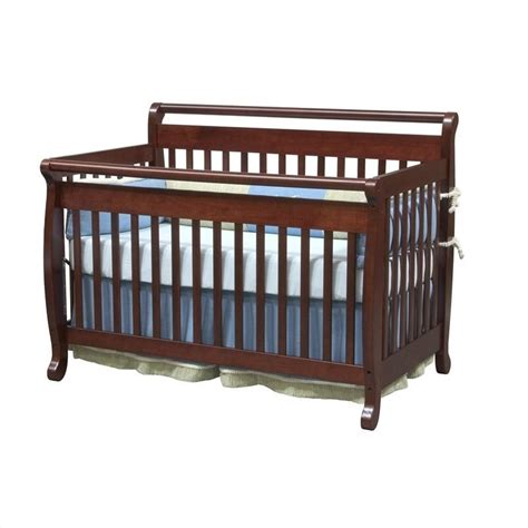 Convertible Crib Bed Rails Davinci Emily 4 In 1 Convertible Crib With Bed Rails In Cherry M4791c M4799c Pkg