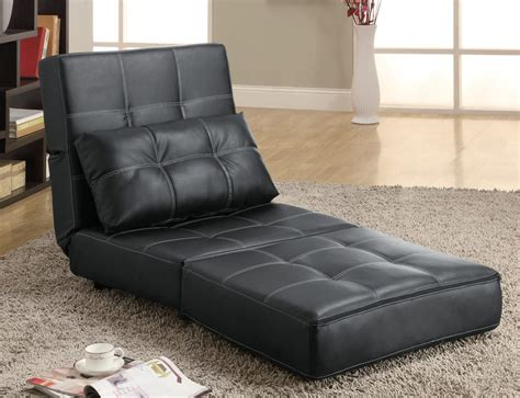 lounge futon 300173 lounge chair sofa bed by coaster