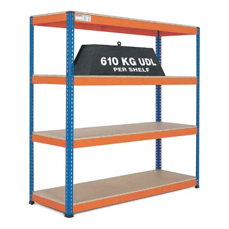 Warehouse Storage Racks by Heavy Duty Warehouse Shelving 1 8m Wide Gt Warehouse