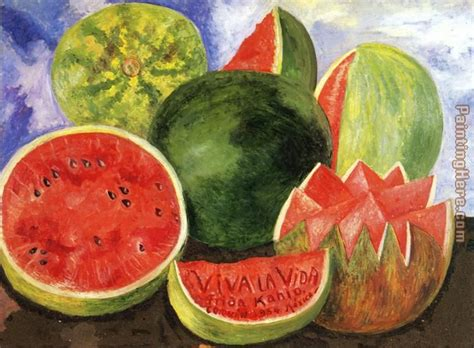 review painting viva frida kahlo viva la vida painting anysize 50