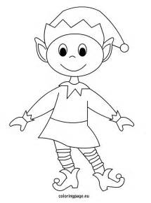 pics photos elf coloring pages
