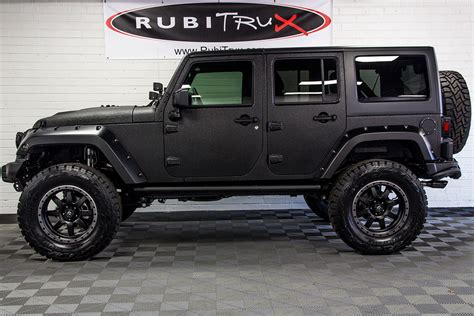 2017 jeep wrangler rubicon unlimited black line x