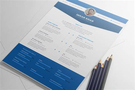 resume template psd 50 beautiful free resume cv templates in ai indesign