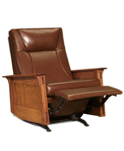 amish recliners mccoy rocker recliner amish direct furniture