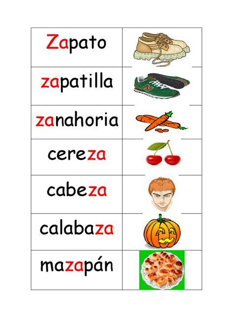 imagenes que empiecen con la letra fr palabras con z
