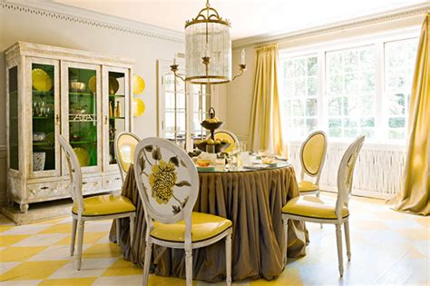traditional decorating in yellow traditional home