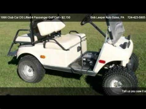 club car ds lifted  passenger golf cart  sale