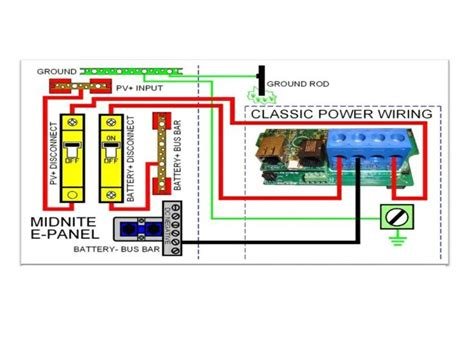 solar charge controller connection diagram pin by iron edison battery co on grid system design