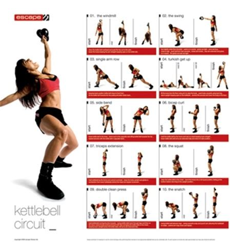 printable fitness poster reebok exercise posters dumbells barbell circuits