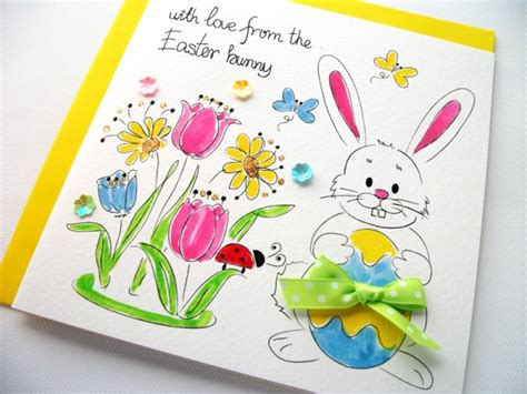 How To Sell Handmade Greeting Cards - bright beautiful easter greeting cards