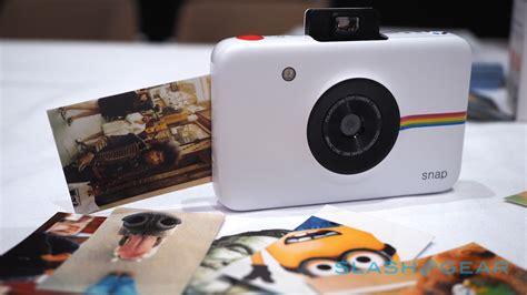 instant photos polaroid snap on a digital with instant