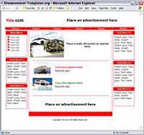 dreamweaver shopping cart templates dreamweaver templates details of website template number