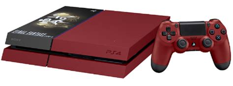 ps4 wann kaufen ps4 rote quot suzaku edition quot in japan news gamersglobal de