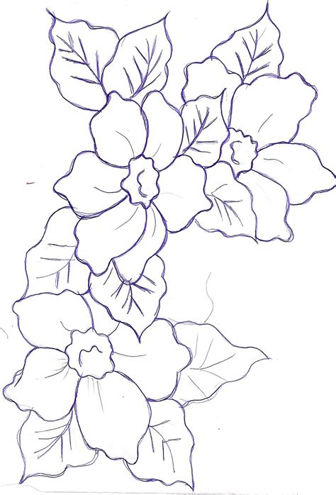 imagenes e flores para colorear free coloring pages of chambord