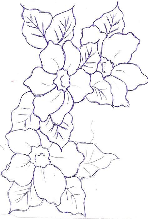 imagenes de flores grandes para dibujar free coloring pages of chambord