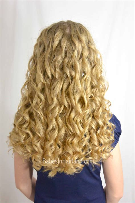 curlformers perm easy gorgeous updo babes in hairland